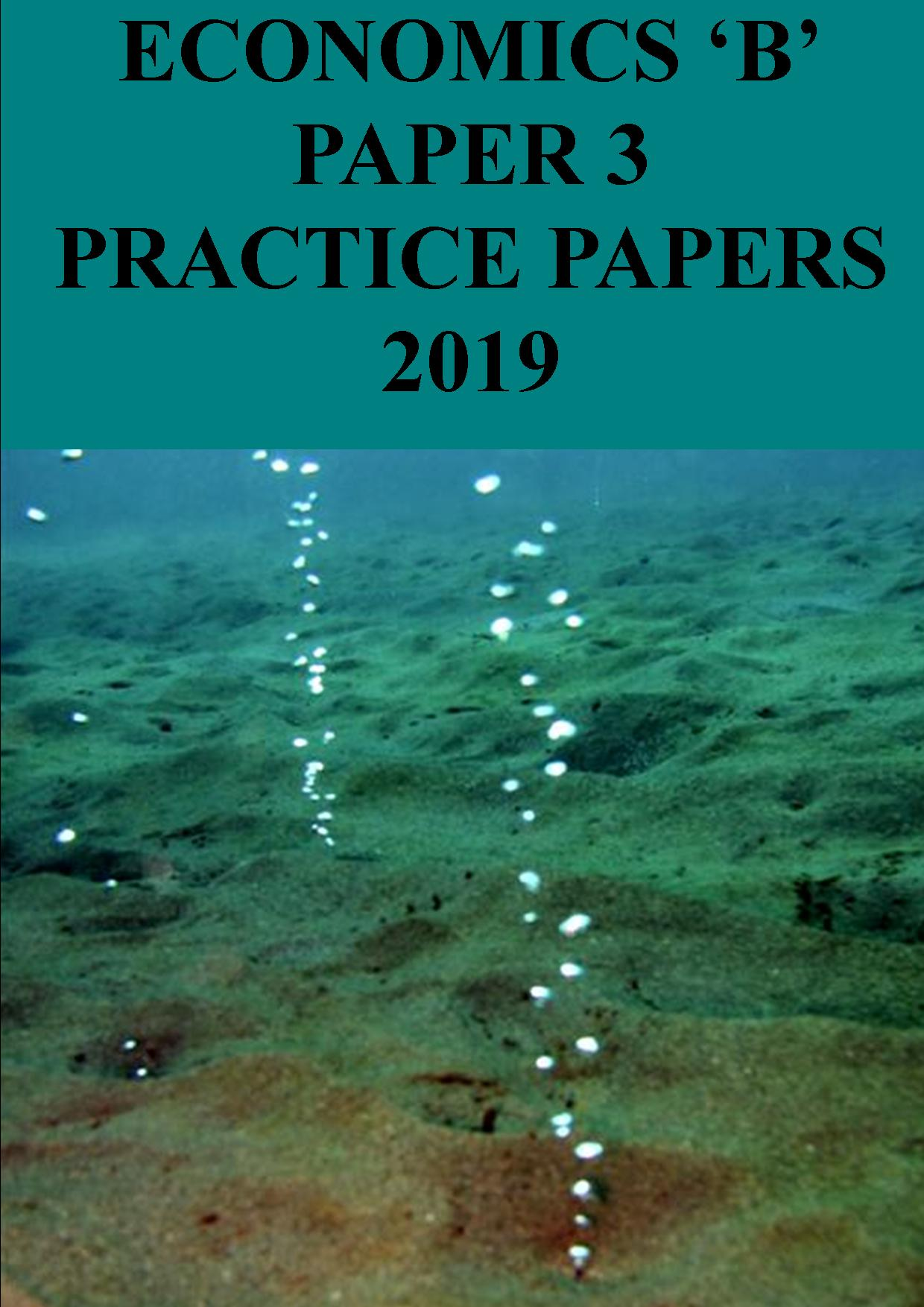 Paper 3 practice papers - 2019: labour