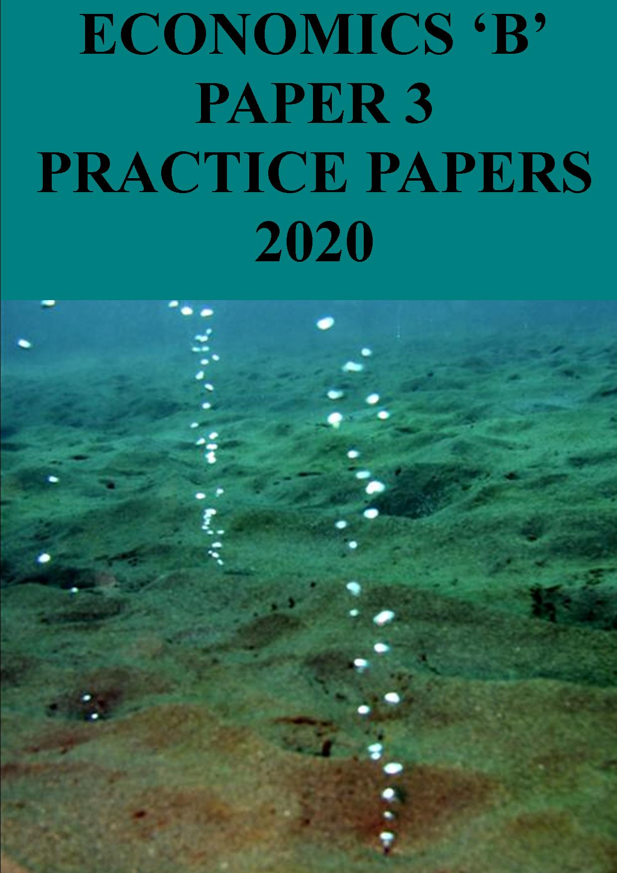 Paper 3 practice papers - 2020