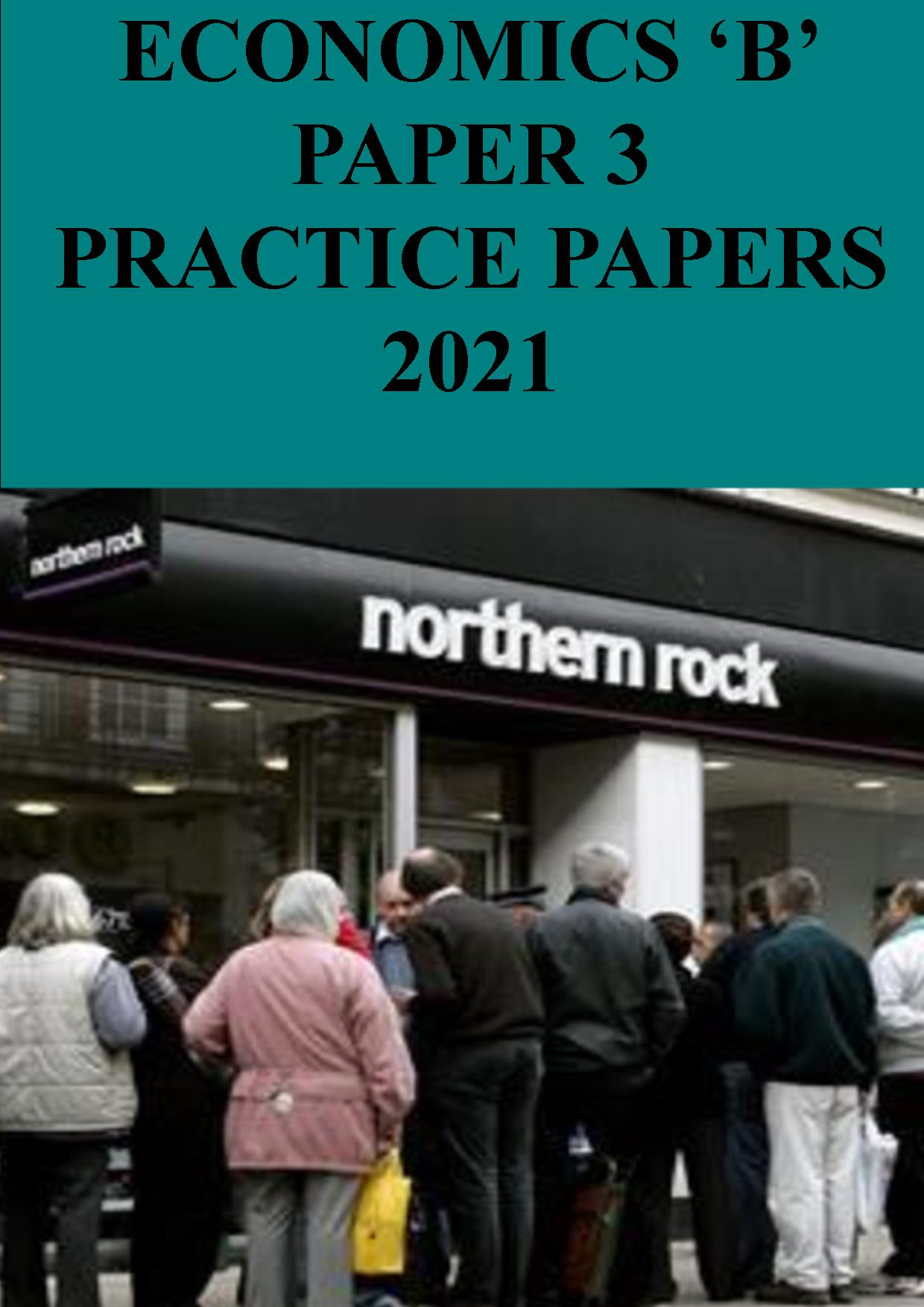 Paper 3 practice papers - 2021